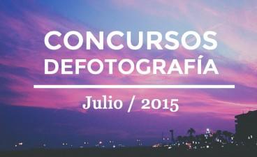 Los mejores concursos de fotografía de Julio 2015