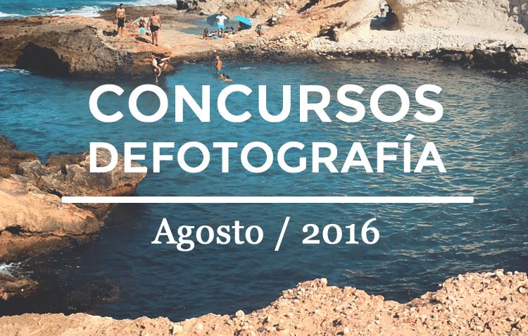 Los mejores concursos de fotografía de Agosto 2016