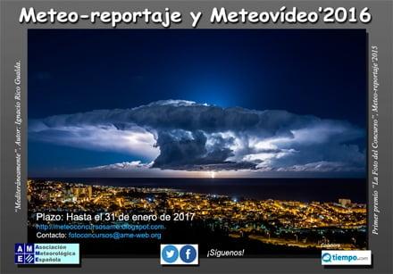 """XII Edición del Concurso Fotográfico """"METEO-REPORTAJE"""""""