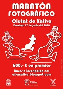 VI Maratón Fotográfico Ciutat de Xàtiva