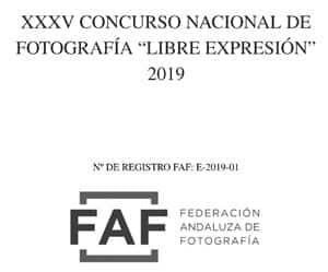 """XXXIV Concurso Nacional de Fotografía """"Libre Expresión"""""""