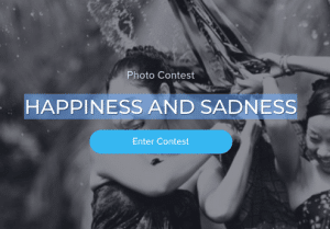 Coinaphoto Contest Happiness and Sadness