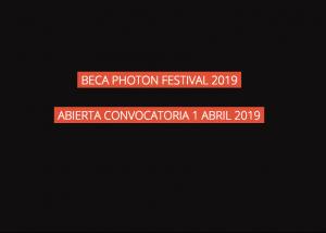 Beca PhotOn 2019