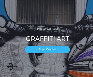 Coinaphoto Contest Graffiti Art