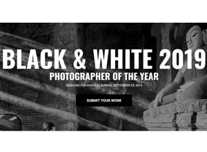 Black & White Photography Awards 2019
