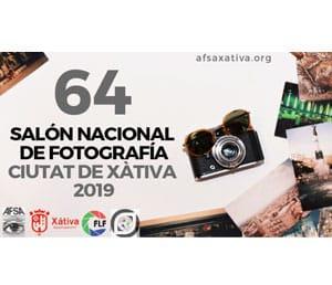 64 Salón Nacional de Fotografía Ciutat de Xàtiva 2019