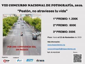VIII Concurso Nacional de Fotografía Peatón no atravieses tu vida