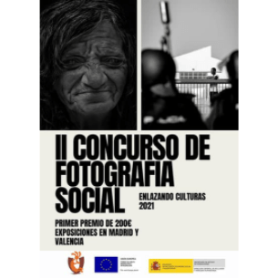 II Concurso de Fotografía Social Culturas Unidas: Proyecto Enlazando Culturas