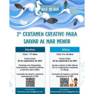 II Certamen Creativo para Salvar al Mar Menor