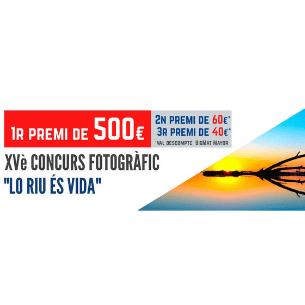 "XV Concurso fotográfico ""Lo Riu ès vida"""